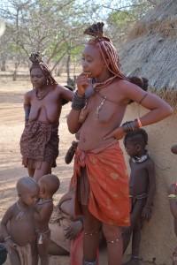 Himba naine