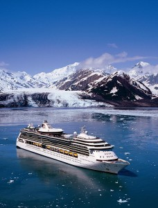 Serenade of the Seas at Hubbard Glacier - Alaska
