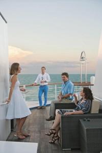 Õhtused kokteilid laevadekil