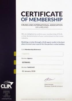 CLIA sertifikaat