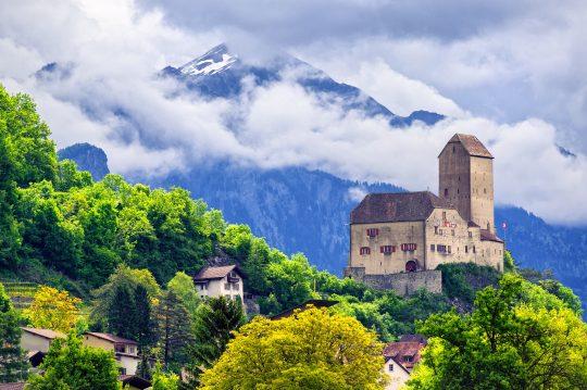 Sargans, St. Gallen, šveits