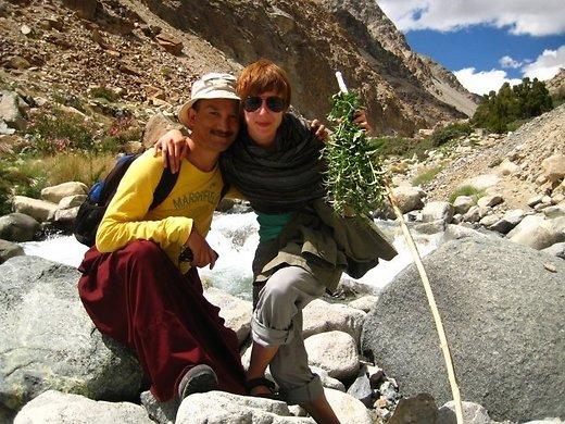 Indias Ladakhis piparmündijahil (2007).