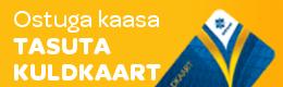 Kuldkaardi eripakkumine kuni 31.05.2017