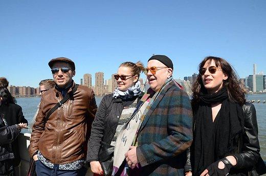 Linnateatri trupiga USA-s turneel selle aasta aprillis. Foto: erakogu